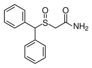 Modafinil_Ch_structure