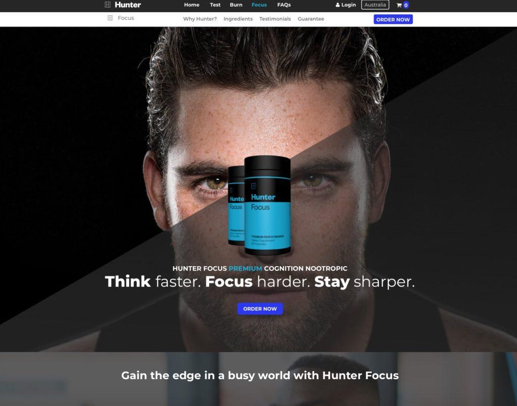 Hunter Official Website