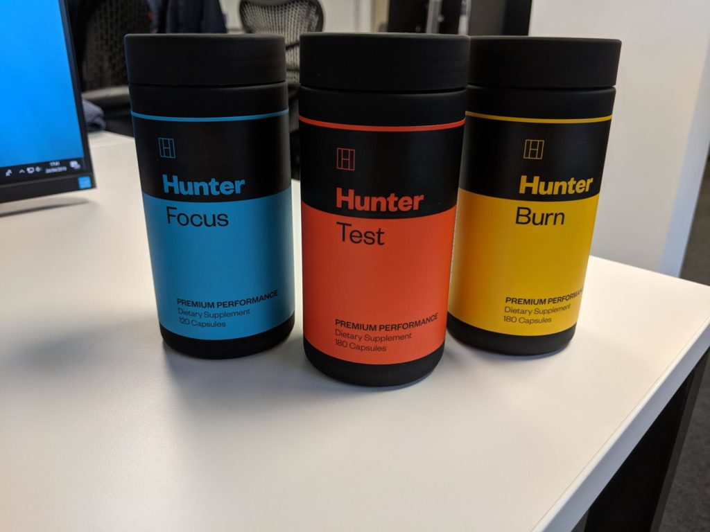 Hunter range of products
